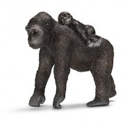 Schleich Female Gorilla with Baby