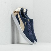 Puma Suede Bow Varsity Wn's Peacoat/ Metallic Gold