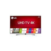 Smart TV LED 70 LG 70UJ6585 Ultra HD 4k (2160p) com Conversor Digital 4 HDMI 2 USB Wi-Fi Webos 3.5 e Sistema de Som Ultra Surround - Prata