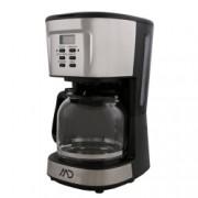 Cafetiera digitala MD MCM-4020 900 W 1.5 L 12 cesti Functie mentinere la cald Functie antipicurare Negru/Argintiu
