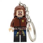 Generic Game of Thrones Figure Keychain Jon Snow Lannister Daenerys Khal Drogo Cersei Jaime Tyrion Stark Building Blocks Toys Eddard Stark