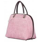 CHIARO SCURO Borsa donna in vera pelle CHIARO SCURO mod. CHIARA colore ROSA Made in Italy