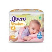 Libero Baby Soft 2 Mini Fraldas (3-6Kg) 36unid.