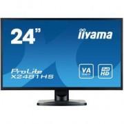 Iiyama 24 TFT X2481HS-B1 Zwart Full HD PC-flat panel
