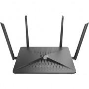Router D-Link DIR-882, 4 port-uri wireless AC2600, Dual-Band, Gigabit, 1xUSB2.0