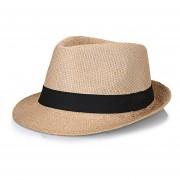 hat de los de verano playa de lino respirable de pajade Sombrero LANG(#Khaki)(#56-58CM)