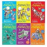 Enid Blyton Books The Magic Faraway Tree Collection 6 Books Colour Set/***