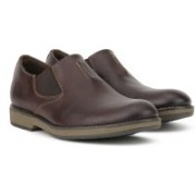 Clarks Hinman Step Slip On For Men(Brown)