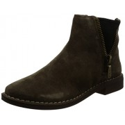 Clarks Women's Cabaret Ruby Beige Boots - 4 UK/India (37 EU)