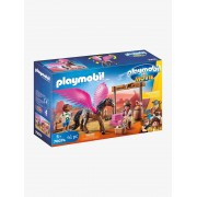 Playmobil 70074 THE MOVIE Marla, Del e Cavalo com Asas, da PLAYMOBIL castanho medio liso com motivo