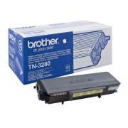 Brother Cartucho de tóner Original BROTHER TN3280 Negro 8.000 páginas para BROTHER DCP-8070, 8085, HL-5340, 5350, 5370, 5380, MFC-8370, 8380, 8880, 8890
