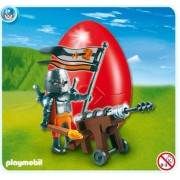 Playmobil 4933 Armored - Falcon Knight with Cannon