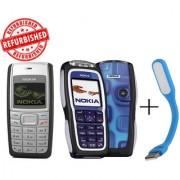 Refurbished Nokia 1110+ Nokia 3220+USB LED