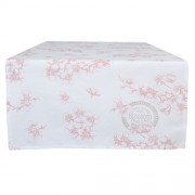 Clayre & Eef LBF64 Asztali futó 50x140cm, Lovely Blossom Flowers