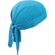 Myrtle Beach Turquoise blauwe sport bandana