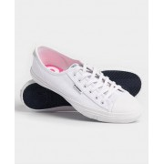 Superdry Niedrige Low Pro Sneaker 38 weiß