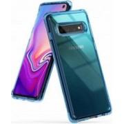 Husa Samsung Galaxy S10 Ringke Fusion Transparent Albastru