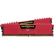 Memorii Corsair Vengeance LPX Red DDR4, 2x16GB, 3000 MHz, CL 15
