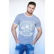 """Epatage Мужская футболка с принтом """"Потерянные повстанцы"""" серого цвета Epatage RT1415283m-EP"""
