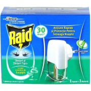 Raid Aparat electric anti tantari cu rezerva eucalipt 21 ml