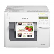 Impresora de etiqueta Epson TM-C3500-011 USB/Ethernet,Blanca