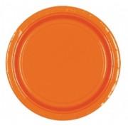 Set 8 farfurii 22.9cm orange