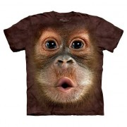 The Mountain All-over print kids t-shirt Orang Oetang