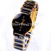 Luxury Brand Longbo Ceramic Water Resistant Women Wrist Watch,Free Shipping Quality Women Steel Ceramic Rhinestone watches 8493
