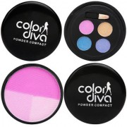 Color Diva Eye Face Makeup Combo Set Of 2 C-535
