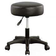 Hoker Fryzjerski Krzesło Kosmetyczne Czarny