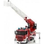 Masina de pompieri cu pompa de apa - Scania