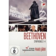 Paavo Jarvi - Beethoven: Symphonies 1-4 (DVD)