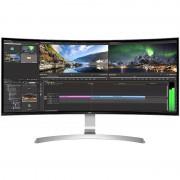 Monitor LED Gaming Curbat LG 34UC99-W 34 inch 5ms White