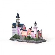 Daron Neuschwanstein Castle Led 3D Puzzle (128-Piece)