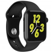 "Ceas smartwatch W34, 1.54"" IPS Full Touchscreen, Monitorizare Sanatate, Notificari, Black"