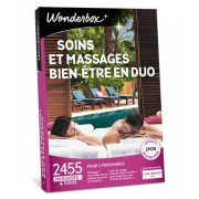 Wonderbox Coffret cadeau Soins et Massages Bien-Être en duo - Wonderbox