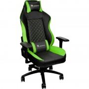 Scaun Gaming Tt eSPORTS GT Comfort, Negru/Verde
