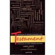 Testament. Antologie de poezie romaneasca moderna editie bilingva