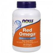 Ред Омега - Red Omega - 90 дражета - NOW FOODS, NF1675