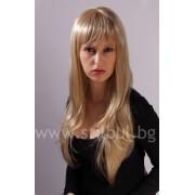 Перука от изкуствена коса Жасмин