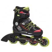 Fila Inline Skates X One Boy verstelbaar zwart/groen maat 29/32