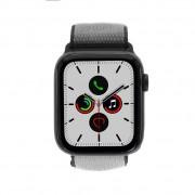 Apple Watch Series 5 - caja de aluminio en gris 44mm - correa Loop deportiva en gris hierro (GPS+Cellular) refurbished