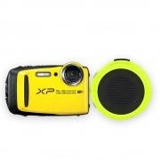 cámara digital fujifilm xp 120 amarilla más bocina braven 105