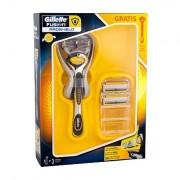 Gillette Fusion Proshield Rasierer mit einer Klinge 1 St + Ersatzklinge 2 St für Männer