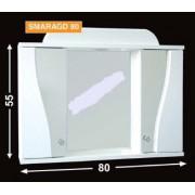 Guido Smaragd 80 tükrös fürdőszobaszekrény