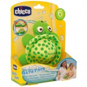 Chicco pupazzo turtle bath toy 05187-00