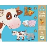 Puzzle gigant animale de ferma