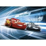 Fototapet Cars - Fulger McQueen si Jackson Storm