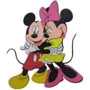 Mickey&Minnie falidekor 02