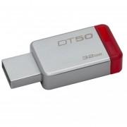 Pendrive Datatraveler 50 32gb Usb 3.1 Flash Kingston- Rojo